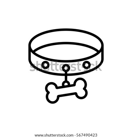 Dog Collar Drawing 28 Collection Of Dog Collar Drawing High Quality