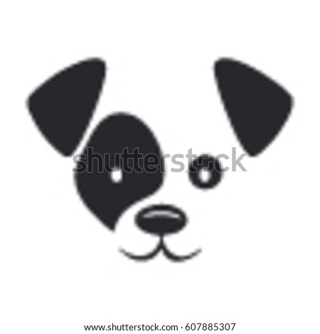 West Highland Terrier Brown Dog Face Stock I...