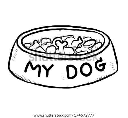 Hand Drawn Dog Stock Images Royalty-Free Images U0026 Vectors   Shutterstock