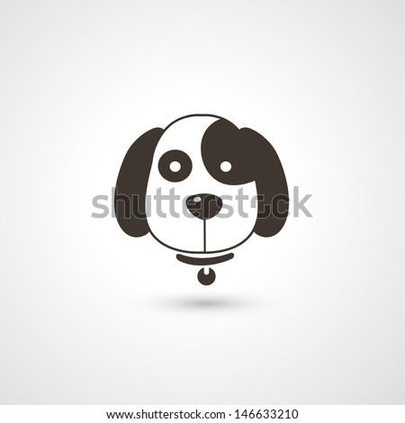 Dog dog ears Stock Photos  Illustrations  and Vector ArtDog Head Vector