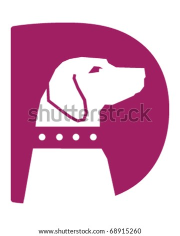 Dog Icon - stock vector