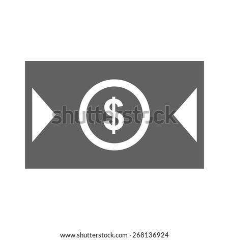 Dollar, bill, money, cash icon vector image. Can also be used for eCommerce, shopping, business. Suitable for web apps, mobile apps and print media. - stock vector