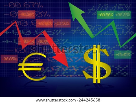 Stock Market Up And Down Clip Art