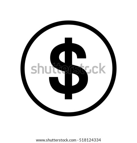 dollar sign icon stock images royaltyfree images