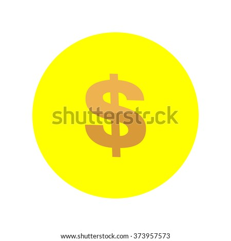 Dollar vector icon