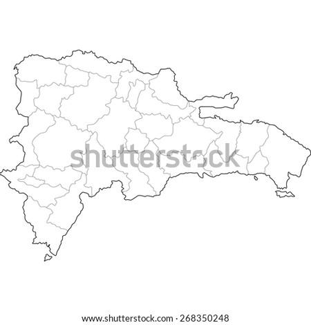 Dominican Republic - stock vector