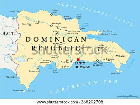 Puerto Rico Political Map Capital San Stock Vector - Political map of puerto rico