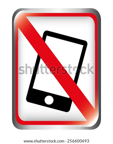 dont cellphone design, vector illustration eps10 graphic