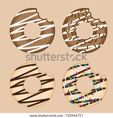 Bite vector stock images royalty free images vectors for Mosquito donuts