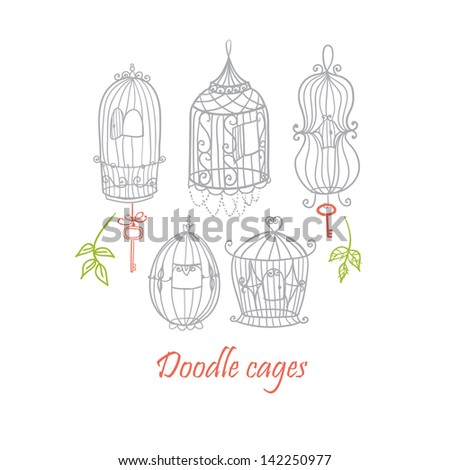 Doodle cages.