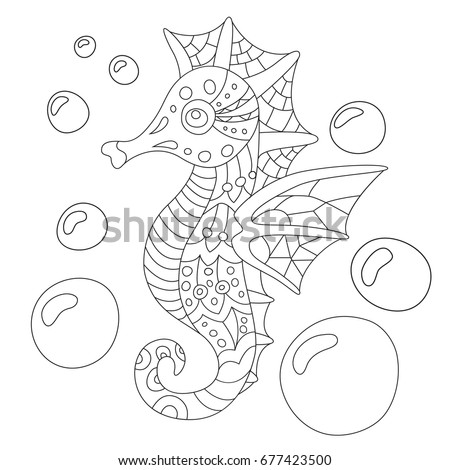 underwater bubbles coloring pages - photo#13