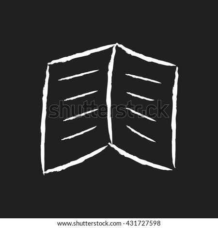 doodle drawing book - stock vector