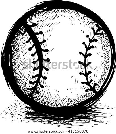 Baseball Vector Icon Stock Vector 269089637 - Shutterstock