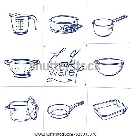 Clip Art Mixing Bowl Spoon Cake Tin
