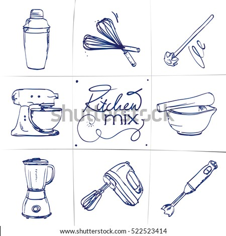 Mixer Stock Vectors Images Amp Vector Art Shutterstock