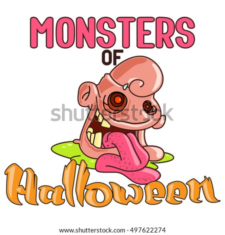 doodles halloween character vector illustrations good for book illustration magazine prints or journal - Article About Halloween