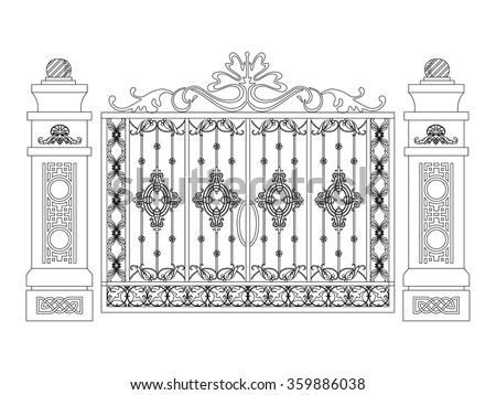 Iron Door Stock Photos Images Amp Pictures Shutterstock