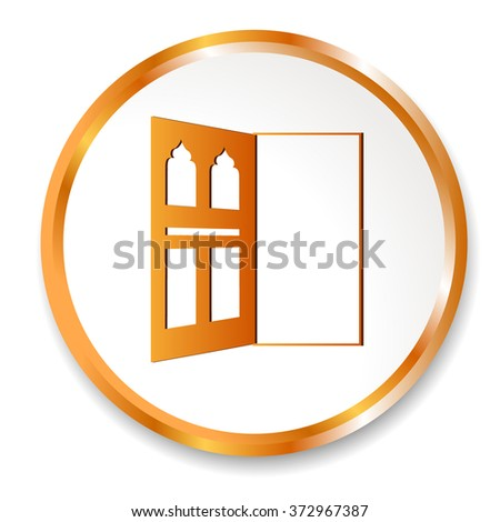Door icon Vector Illustration