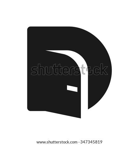 door logo vector.  sc 1 st  Shutterstock & Door Logo Vector Stock Vector 347345819 - Shutterstock