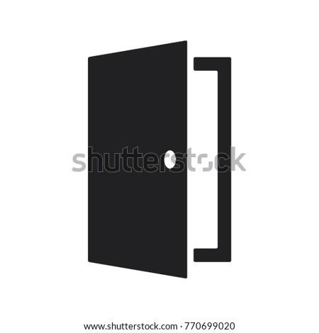 door vector icon flat design best door icon  sc 1 st  Shutterstock & Door Vector Icon Flat Design Best Stock Vector 770699020 ...