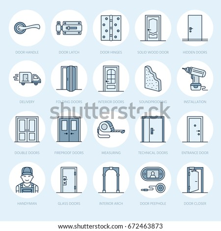 Hinges stock images royalty free images vectors shutterstock for Interior doors installation services