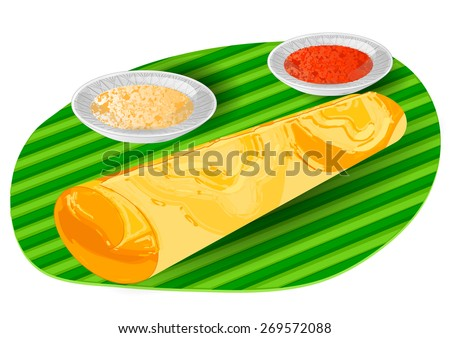dosa. - stock vector