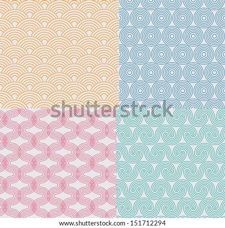 Dot Pattern - stock vector