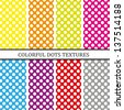 Dots Background - stock vector