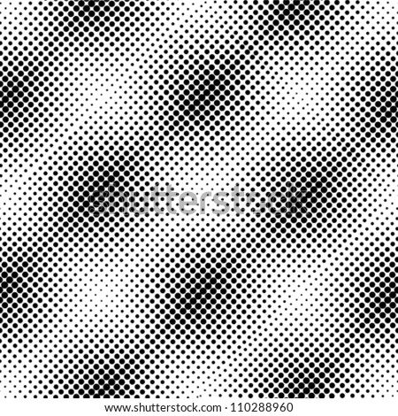 Dots halftone vector - stock vector