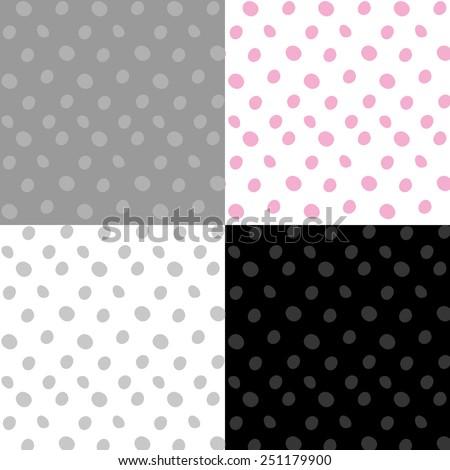 Dots pattern. - stock vector