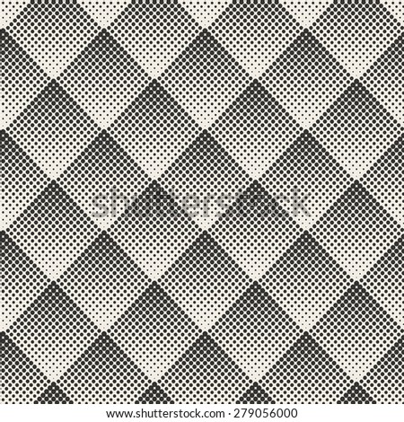 Dots Seamless pattern. Vector background - stock vector