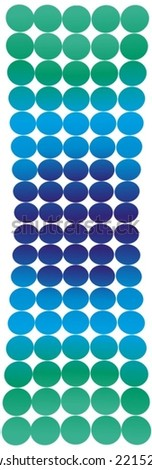 Dotted background VECTOR - stock vector