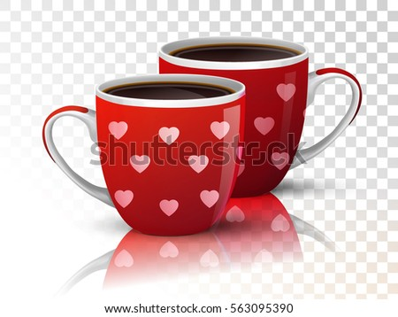 coffee cups drinks hearts - photo #23