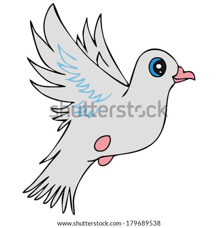 Dove bird peace sign - photo#25