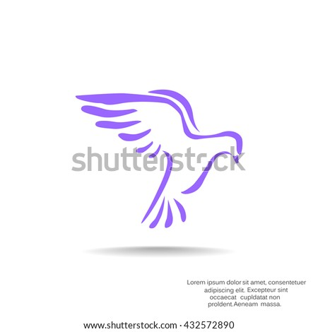 Dove icon. Dove icon Vector. Dove icon Art. Dove icon eps. Dove icon Image. Dove icon logo. Dove icon Sign. Dove icon Flat. Dove icon design. Dove icon app. Dove icon UI. icon Dove web - stock vector