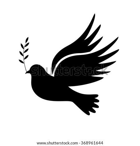 Dove of peace. Dove of Peace Vector. Peace dove, symbol of peace - stock vector