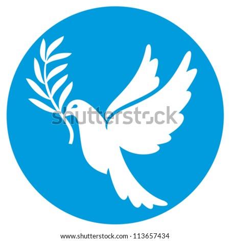 Dove bird peace sign - photo#21