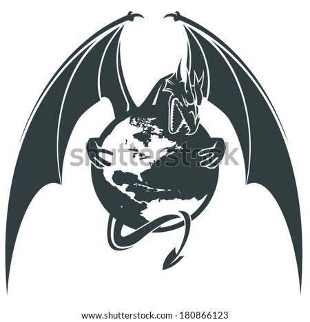dragon wings vector stock images, royalty-free images & vectors