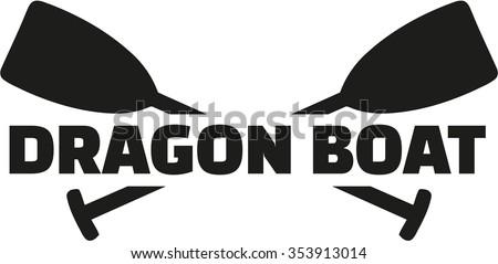 Dragon Boat Racing Icon Stock Vector 353912996 - Shutterstock