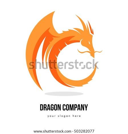 Dragon Logo Stock Images, Royalty-Free Images & Vectors ...  Dragon Logo Sto...