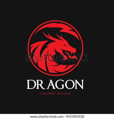 Dragon Logo Stock Images, Royalty-Free Images & Vectors | Shutterstock