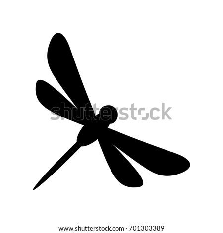 dragonfly vector logo stock vector 2018 701303389 shutterstock rh shutterstock com dragonfly vector art dragonfly vector free download