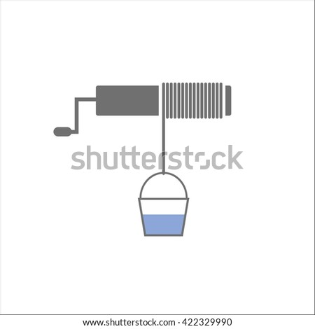 draw well - stock vector