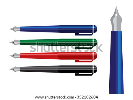 drawing and writing tool vector set