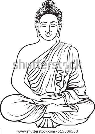 buddha illustration gautama stock images royalty free images vectors 2120