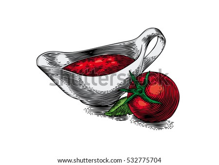 Gravy boat vector stock images royalty free images for Red boat fish sauce whole foods