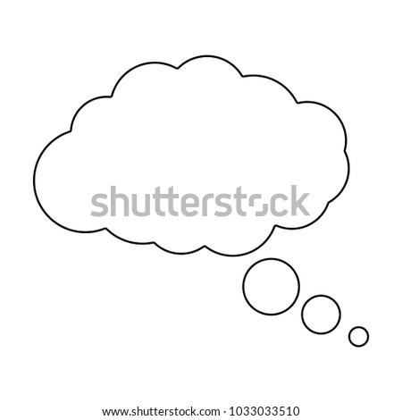dream cloud vector icon for web and mobile