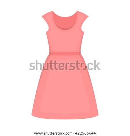 Dress icon. Dress icon vector. Dress icon black. Dress icon app. Dress icon web. Dress icon logo. Dress icon sign. Dress icon simple. Dress icon design. Dress icon eps. Dress icon art. Dress icon draw - stock vector