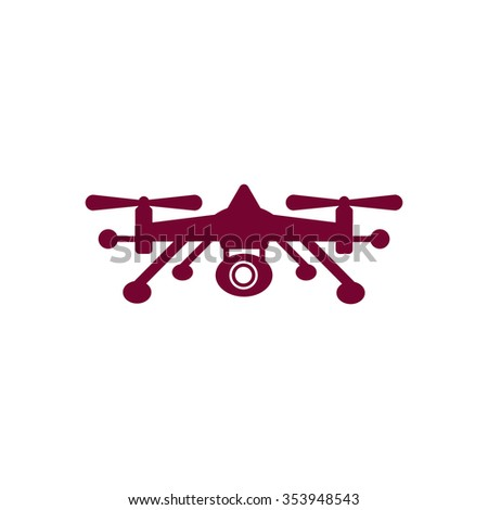 drone Icon / drone Icon Vector / Quadrocopter Icon  / Quadrocopter Icon Vector