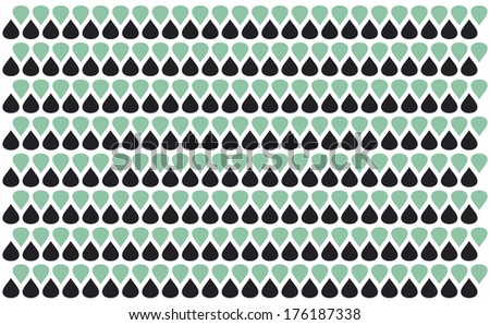 Drop background and texture - retro style - stock vector